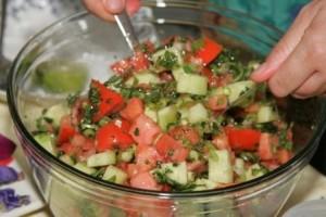 compr greek salad